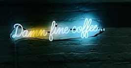 Kaffee Schild Teaser